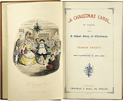250px charles dickens a christmas carol title page first edition 1843