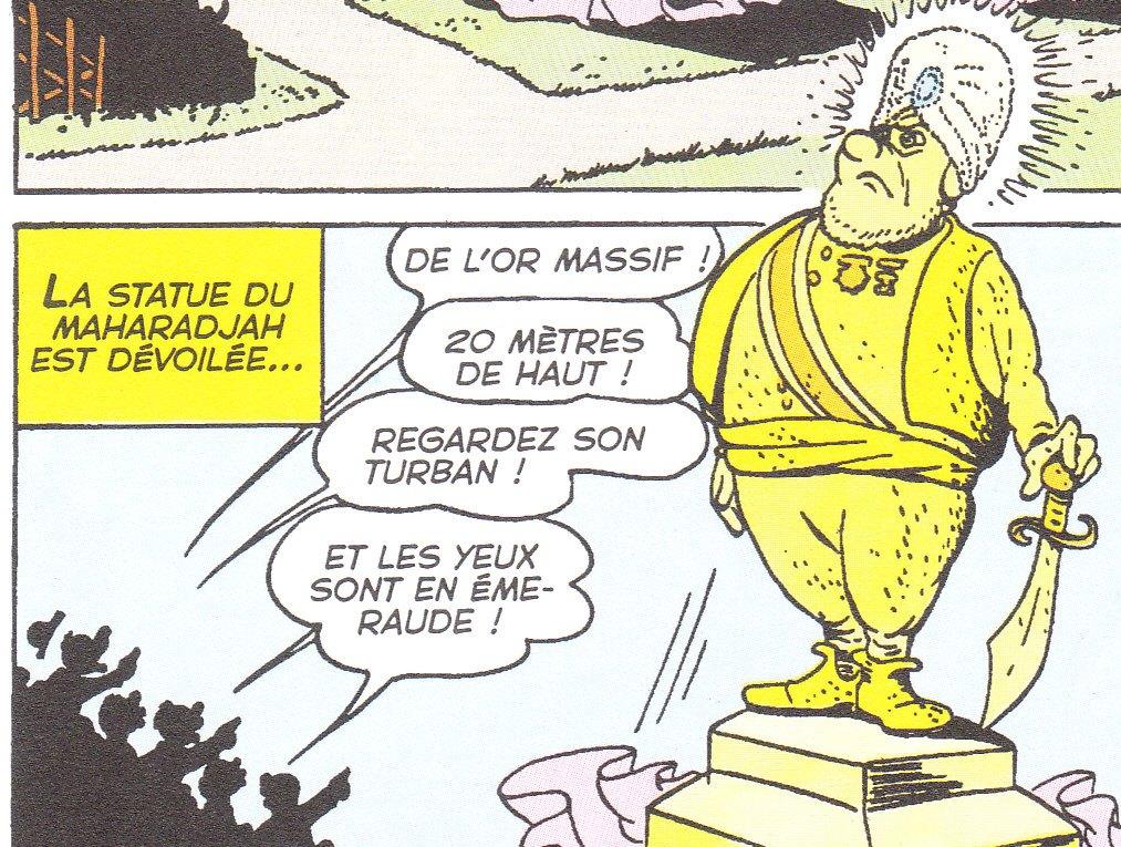 La guerre des statues 1